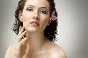 a beauty girl on the grey background  Konstantin Yuganov 24310816