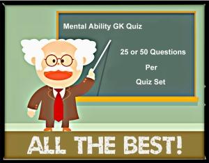Mental-Ability-GK-Quiz