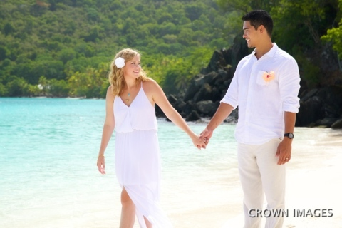 beach+wedding+on+st+john