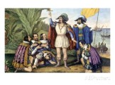 currier-ives-the-landing-of-columbus-october-11-1492-painting-by