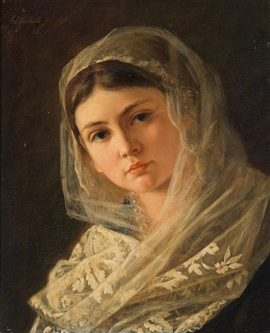 alois-erdtelt-portrait-of-a-young-girl-with-veil
