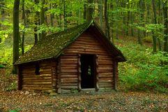 wooden-hut
