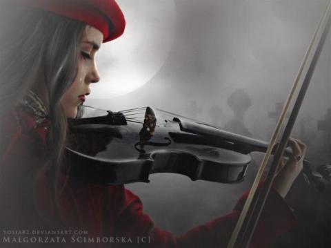 216_Violin Sorrow_Jackie